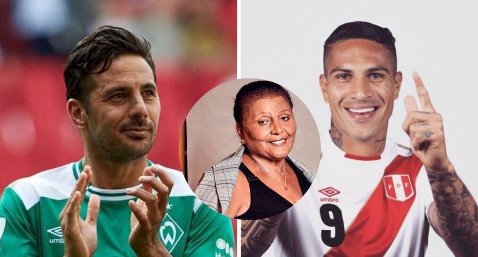 Claudio Pizarro sobre Paolo Guerrero