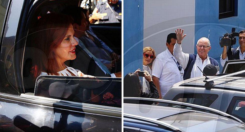 "Mercedes Aráoz visita a PPK: ""Esperemos que sea liberado pronto. No es proporcional"""