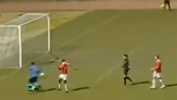 """Página web 'Marca' califica como """"despreciable"""" gol de Piero Alva a Juan Flores"""