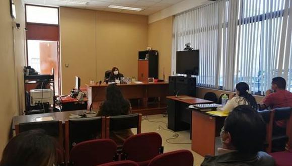 Arequipa. Policía se acogió al beneficio de la terminación anticipada y le redujeron los años de prisión. (Poder Judicial)