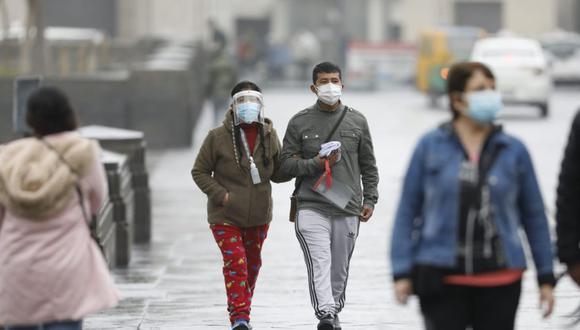 Se espera el descenso de la temperatura, presencia de cobertura nubosa, llovizna y niebla/neblina durante la noche y primeras horas de la mañana (Foto: El Comercio)