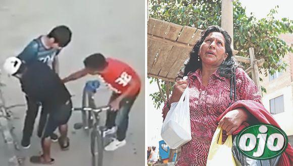 Cortan en el cuello a menor para robarle su bicicleta y ahora lucha por su vida