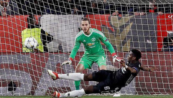 De Gea salva al United del Sevilla con empate 0-0 en Champions (VIDEO)
