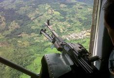 Vraem: Fuerzas Armadas abaten a terrorista en enfrentamiento en el Vizcatán del Ene