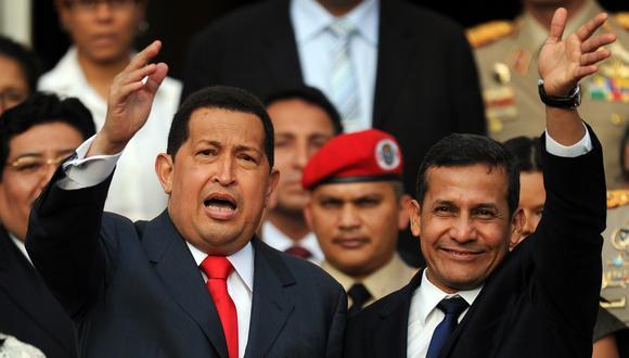 Según la tesis del Ministerio Público, Humala habría recibido dinero del gobierno de Venezuela durante el régimen de Hugo Chávez para su campaña presidencial del 2006. (Foto: AFP)