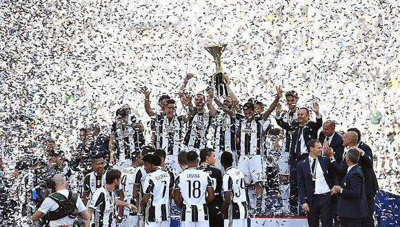 "Serie A: Juventus hace historia al ganar su sexto ""scudetto"" consecutivo"