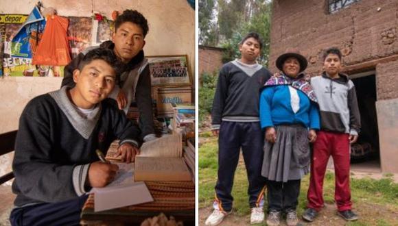 Gemelos en Huancavelica ganan becas y estudiarán en Lima