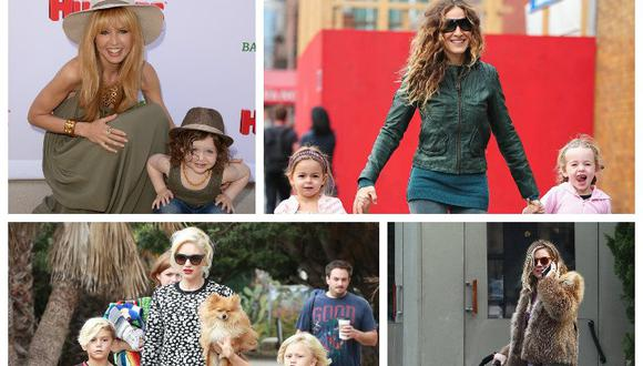 ¡Feliz día Mamá! Te presentamos a las mamás más estilosas de Hollywood (Parte 2) [FOTOS]