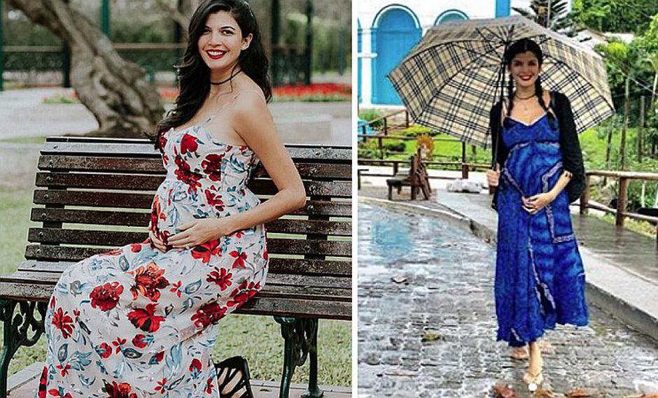 Nicole Faverón: exEEG y Miss Perú revela el nombre que llevará su bebé   FOTOS