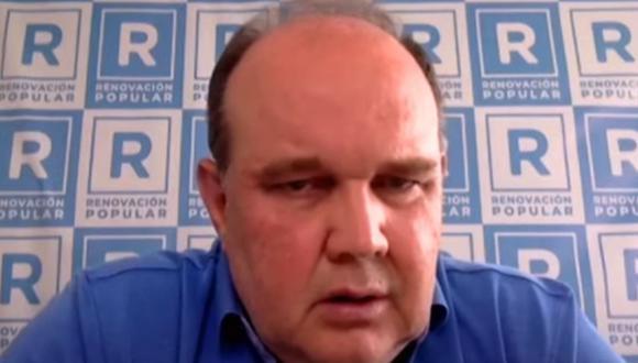 Rafael López Aliaga  dice estar enamorado de la Virgen María