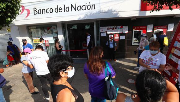 EL bono de 350 soles llamado Yanapay Perú se entregará desde el 8 de setiembre. (Foto: Hugo Curotto / GEC)