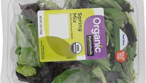 Terrible: hallan esto dentro de verduras para ensalada empaquetadas