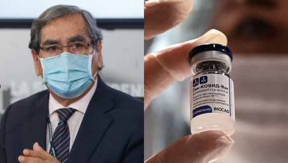 Ministro de Salud indicó que si un laboratorio negocia con el sector privado para comprar vacunas, el gobierno no tiene porque impedirlo. (Foto: Minsa/AFP)