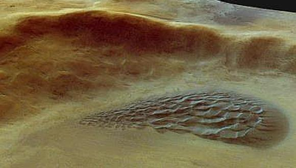 Robot Curiosity halla en Marte nitrógeno, esencial para la vida