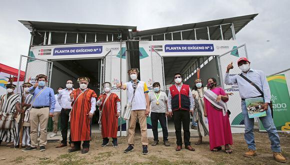 Junín: la nueva planta de oxígeno será de vital importancia para enfrentar la segunda ola de la pandemia en la selva central. (Foto: Difusión)