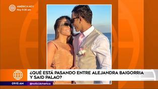 Alejandra Baigorria rompe su silencio y aclara rumores de separación con Said Palao