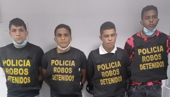 'Los raqueteros caraqueños' asaltaban en zonas residenciales. (GEC)