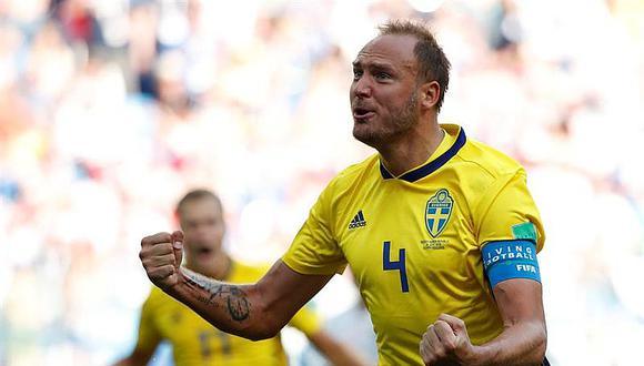 Rusia 2018: Suecia se impone con penal y gana por 1-0 a Corea del Sur (VÍDEO)