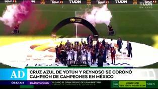 Yoshimar Yotún se corona en el Campeón de Campeones de la Liga MX