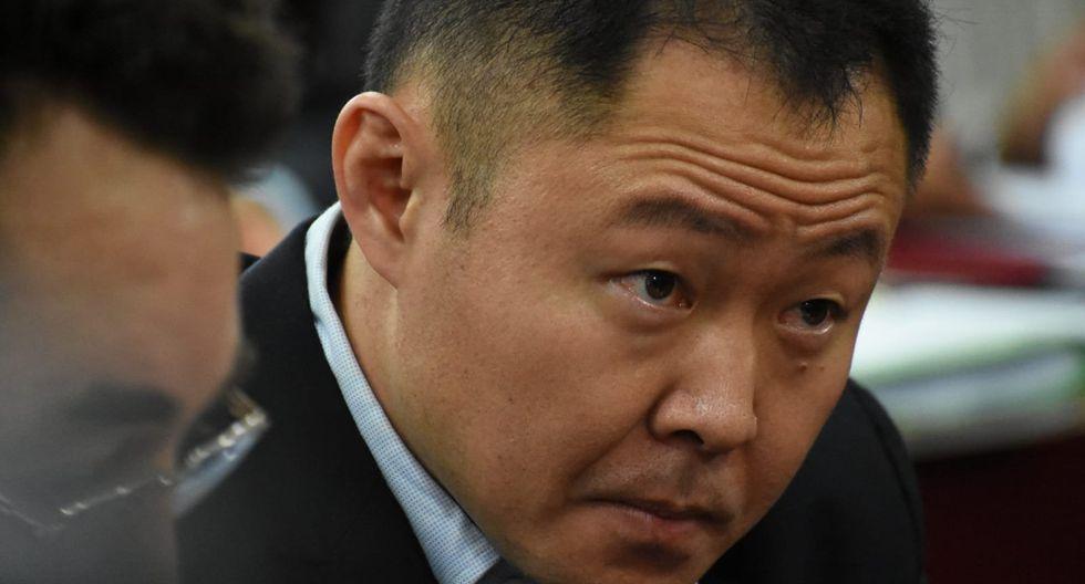Kenji Fujimori fue el único de los cuatro denunciados que estuvo presente en el audiencia de control de acusación. (Foto: Difusión)