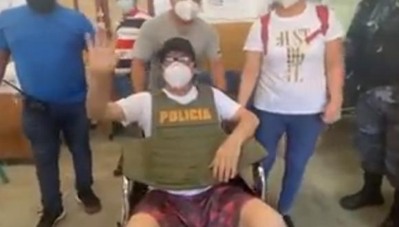 Iquitos: alcalde de Belén salió del hospital tras ser baleado por desconocidos. (Foto: captura de pantalla)