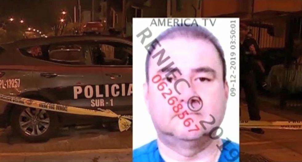 Médico Carlos Enrique Ortega Carrasco fue interceptado por dos hampones a bordo de una motocicleta. (Captura: América Noticias)