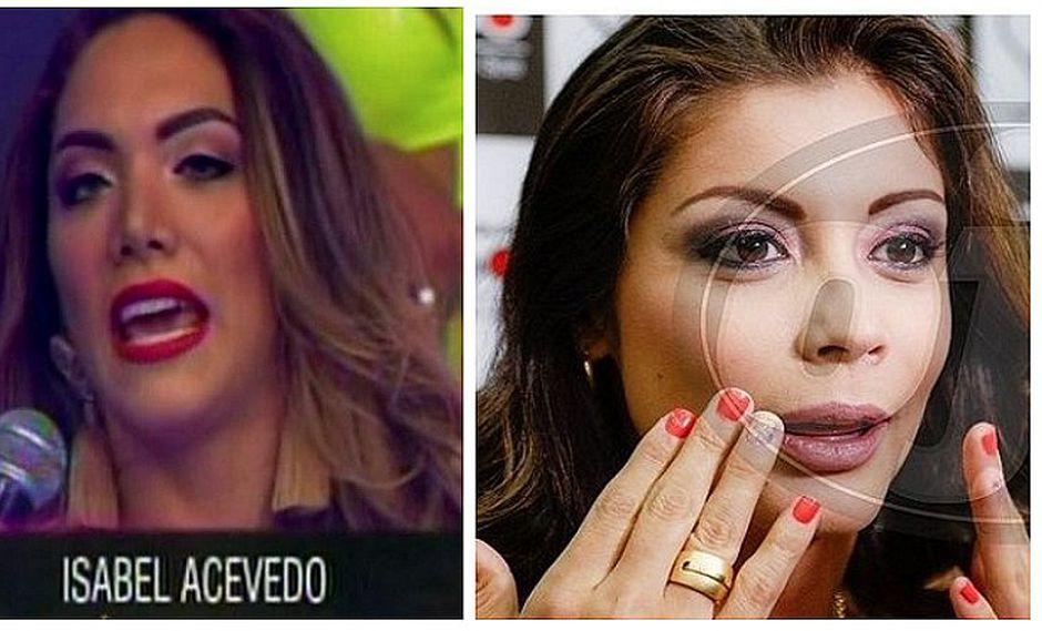 Isabel Acevedo opina lo mismo que Karla Tarazona tras ingresar a Combate