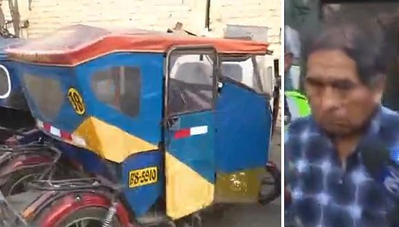 Mototaxista es detenido abusando de niña de 11 años pero madre no lo denuncia (VÍDEO)