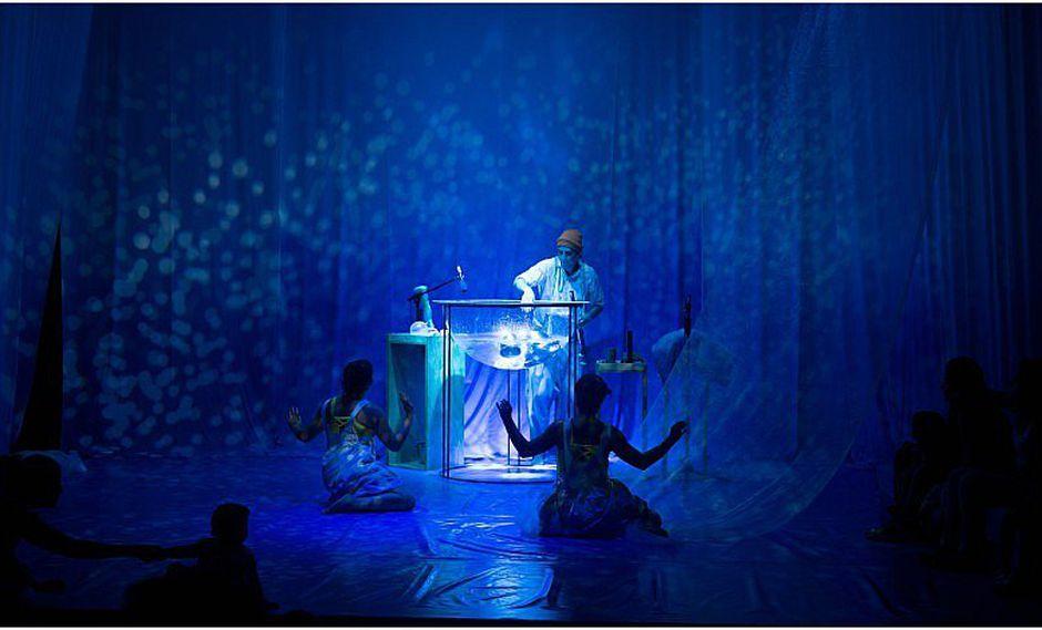 ¡Teatro para bebés! Presentan divertida obra para los pequeñitos