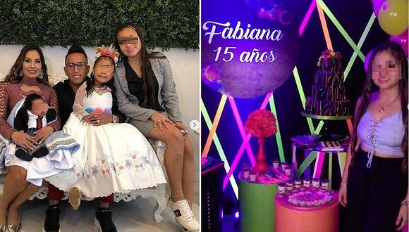 El emotivo mensaje de Christian Cueva a su hija por sus 15 años │FOTOS