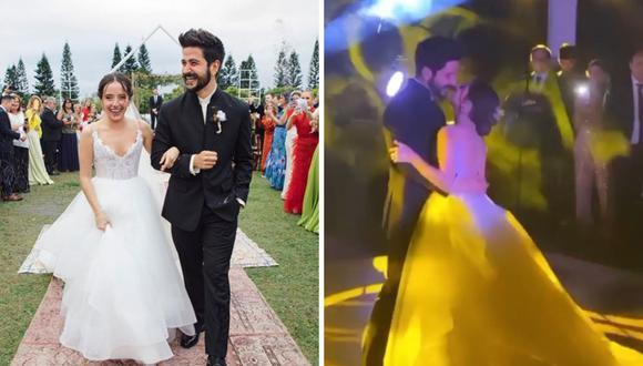 Camilo y Evaluna recién casados