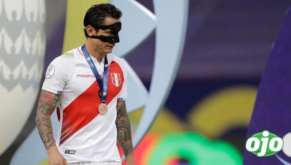 Gianluca Lapadula podría sumarse a Boca Juniors en reemplazo de Carlos Tévez. (Foto: Selección Peruana)