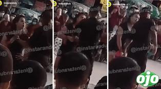 Dayanita vuelve a no usar mascarilla en show callejero y policía intentó intervenir | VIDEO