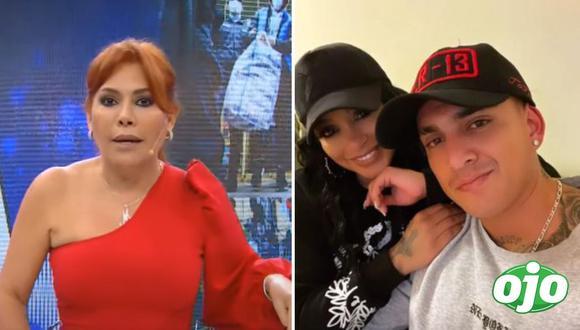 Magaly Medina sobre Paula Arias y Eduardo Rabanal. Fotos: Captura ATV