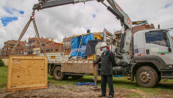 Puno: el Gore anunció que implementará una tercera planta en el hospital Carlos Monge Medrano de Juliaca. (Foto: Gore Puno)
