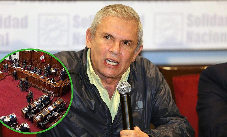 Luis Castañeda Lossio no acudió al Congreso y ahora será citado de grado fuerza