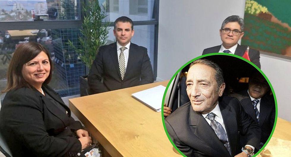 Josef Maiman firma acuerdo con la Fiscalía por casos de Alejandro Toledo
