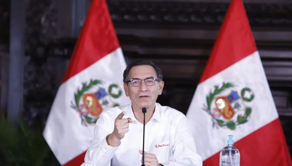 El mandatario brindó una videoconferencia en el vigésimo tercer día del estado de emergencia nacional. (Foto: Presidencia)
