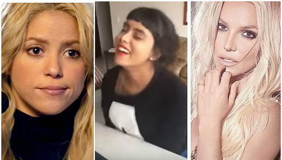 ¡Cuidado Shakira y Britney Spears! Joven hace impactante imitación de estas divas (VIDEO)
