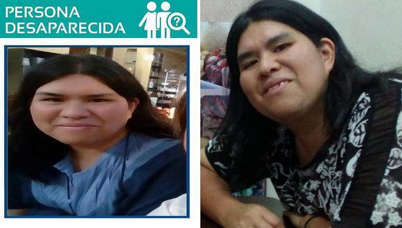Mujer esquizofrénica se pierde en La Parada y sus familiares piden ayuda para encontrarla