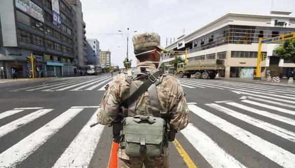 Ministro Carlos Lozada informa que estado de emergencia por COVID-19 y cuarentena focalizada se extenderá hasta el 31 de agosto. (Foto: GEC)