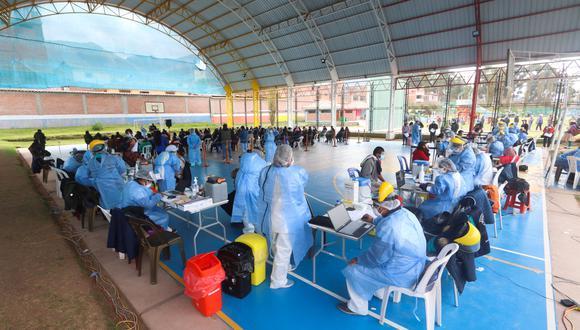El Gobierno de Pedro Castillo planea acelerar la vacunación en las próximas semanas. (Foto: Geresa Cusco)