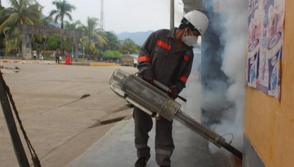 Madre de Dios: brigadas de fumigadores y personal encargado primero se movilizaran hasta las viviendas ubicadas en los asentamientos humanos. (Foto: Difusión)