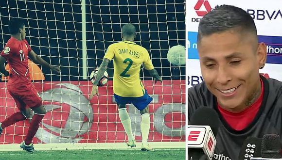 """Raúl Ruidíaz hace broma sobre gol con la mano a Brasil en 2016: """"Ahora hay VAR"""""""