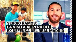 Sergio Ramos: así fue la última visita al Perú del ex defensa del Real Madrid