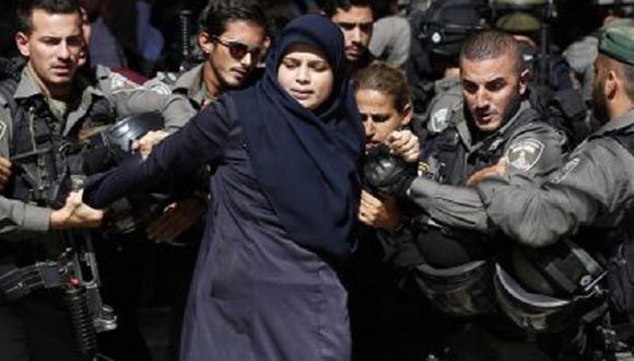 Detienen a mujer palestina en supuesto intento de apuñalamiento