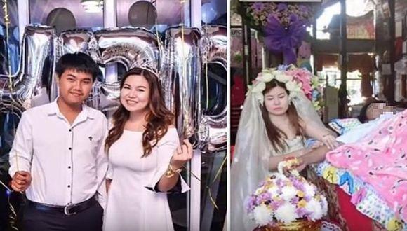 Joven de 19 años se casa con el cadáver de su novio (FOTOS)