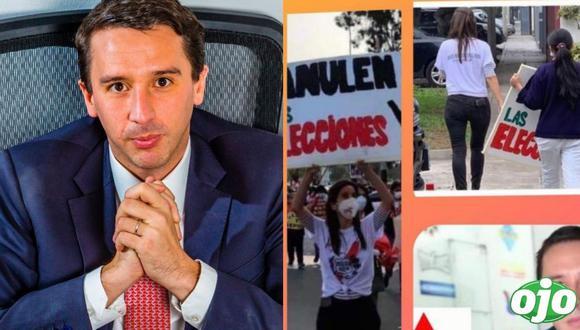 "Mijael Garrido Lecca: ""es un nivel de bajeza asqueroso que metan a 'mi esposa'"""