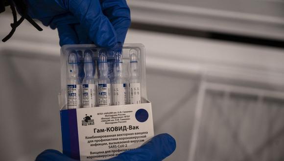 La vacuna rusa ya sido utilizada en varios países con el propósito de controlar la pandemia del COVID-19.  (Yuri CORTEZ / AFP).