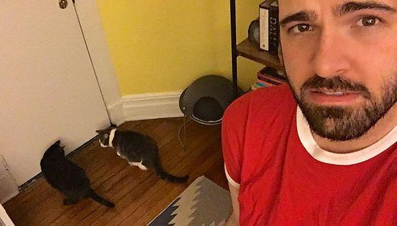 Viral: hombre fotografió a 'ente' que lo molestaba por años (VIDEO)